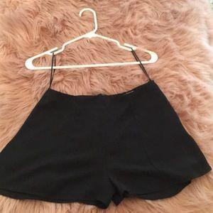 Black Dressy Shorts from LF